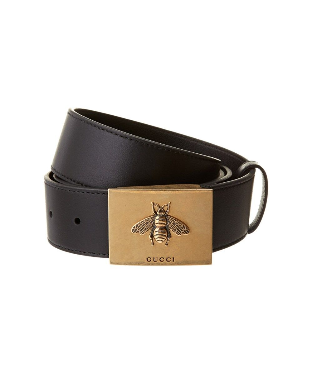 GUCCI Gucci Bee Buckle Leather Belt .  gucci  belts   Gucci Men in ... de938fe5a70