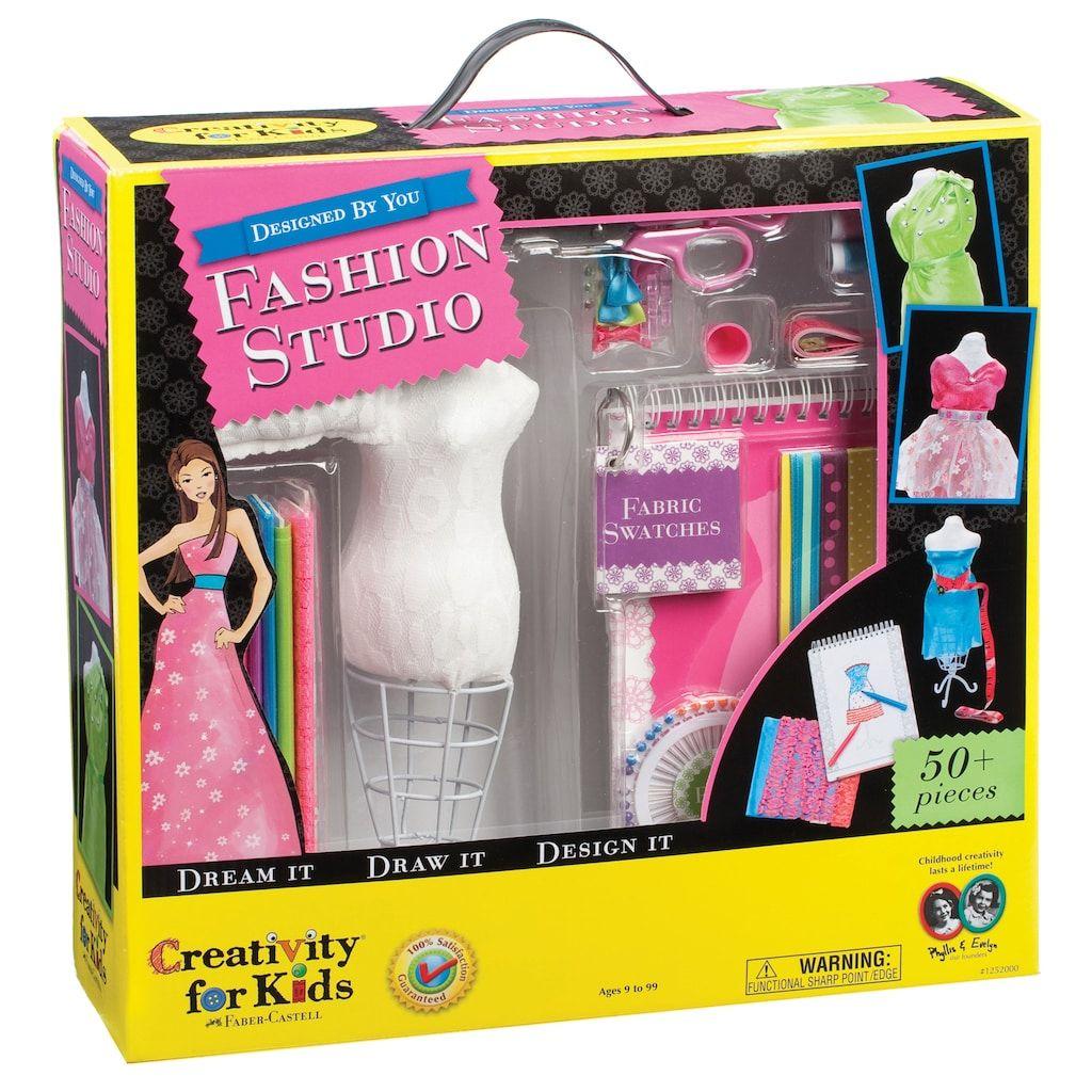 Creativity For Kids Fashion Design Studio, Multicolor