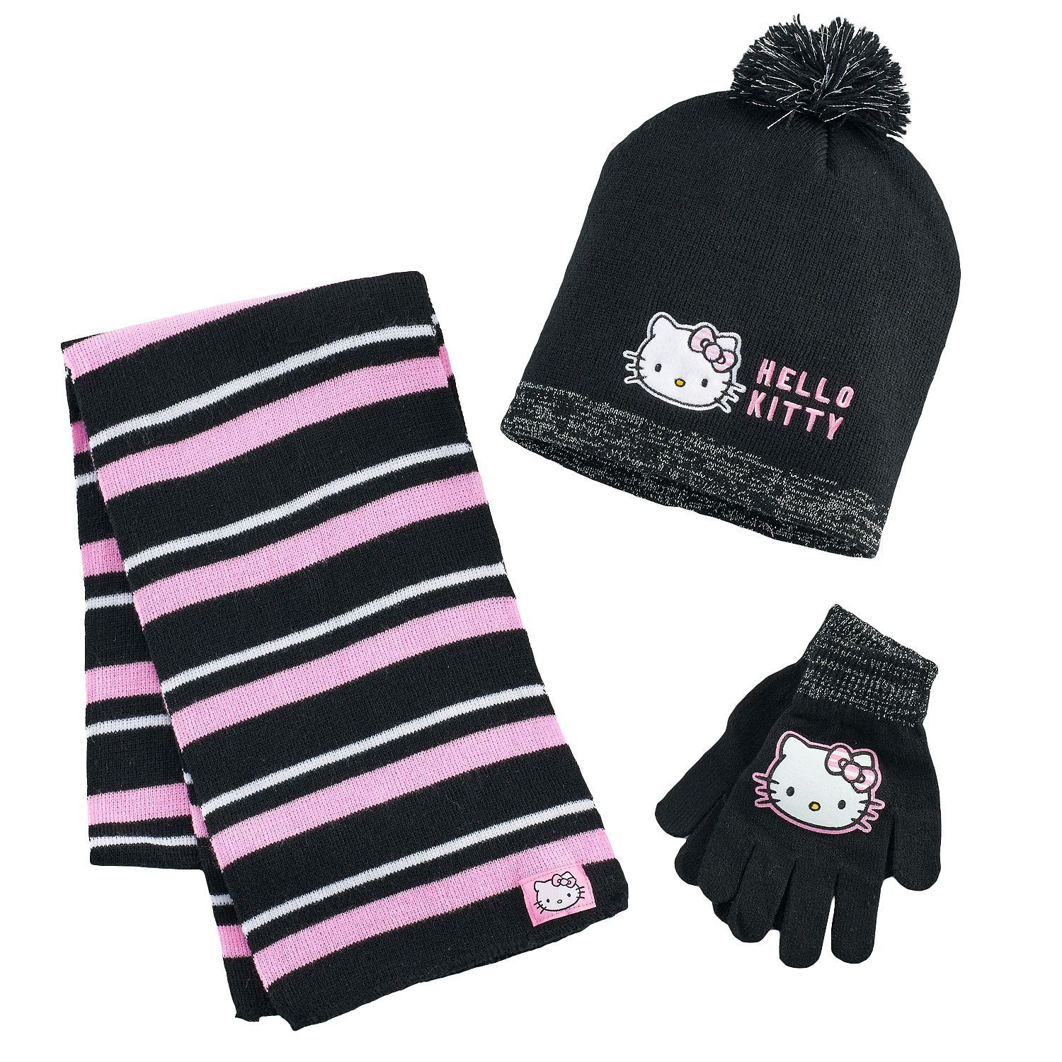 75a16f774c5 Girls 7-16 Hello Kitty Hat