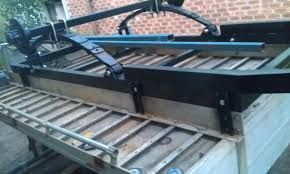 how to turn alloy tray into trailer