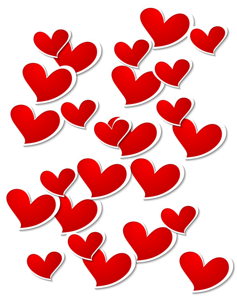 Transparent Red White Hearts Decoration Png Picture Clipart Heart Decorations Free Clip Art Heart Wallpaper