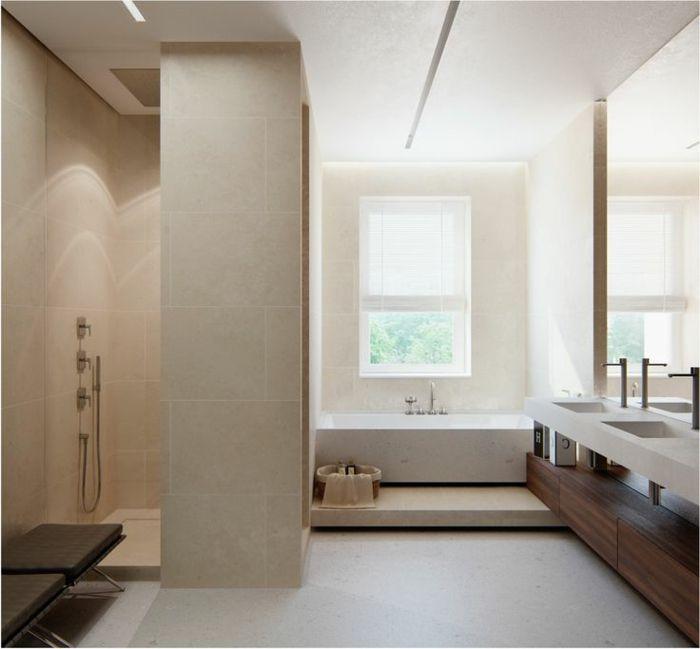 Beaucoup Didées En Photos Pour Une Salle De Bain Beige Salle De - Petite fenetre salle de bain