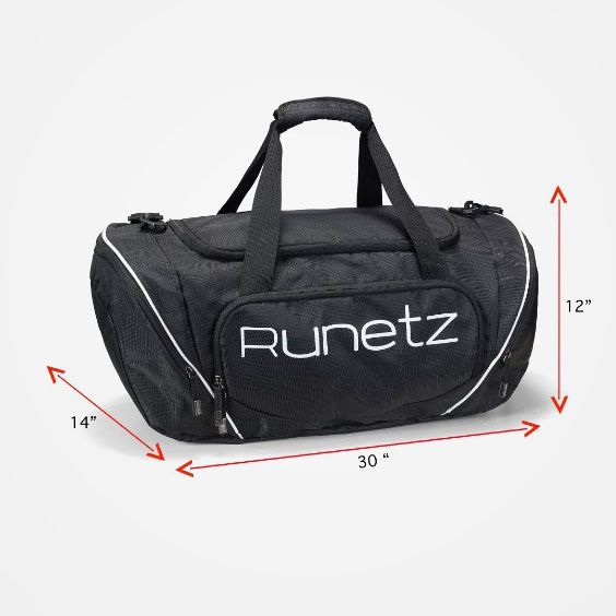 aaa74c795275 Runetz – Gym Bag Travel Duffle Large 20″   XL 30″ for Men   Women Shoulder  Duffel Sport