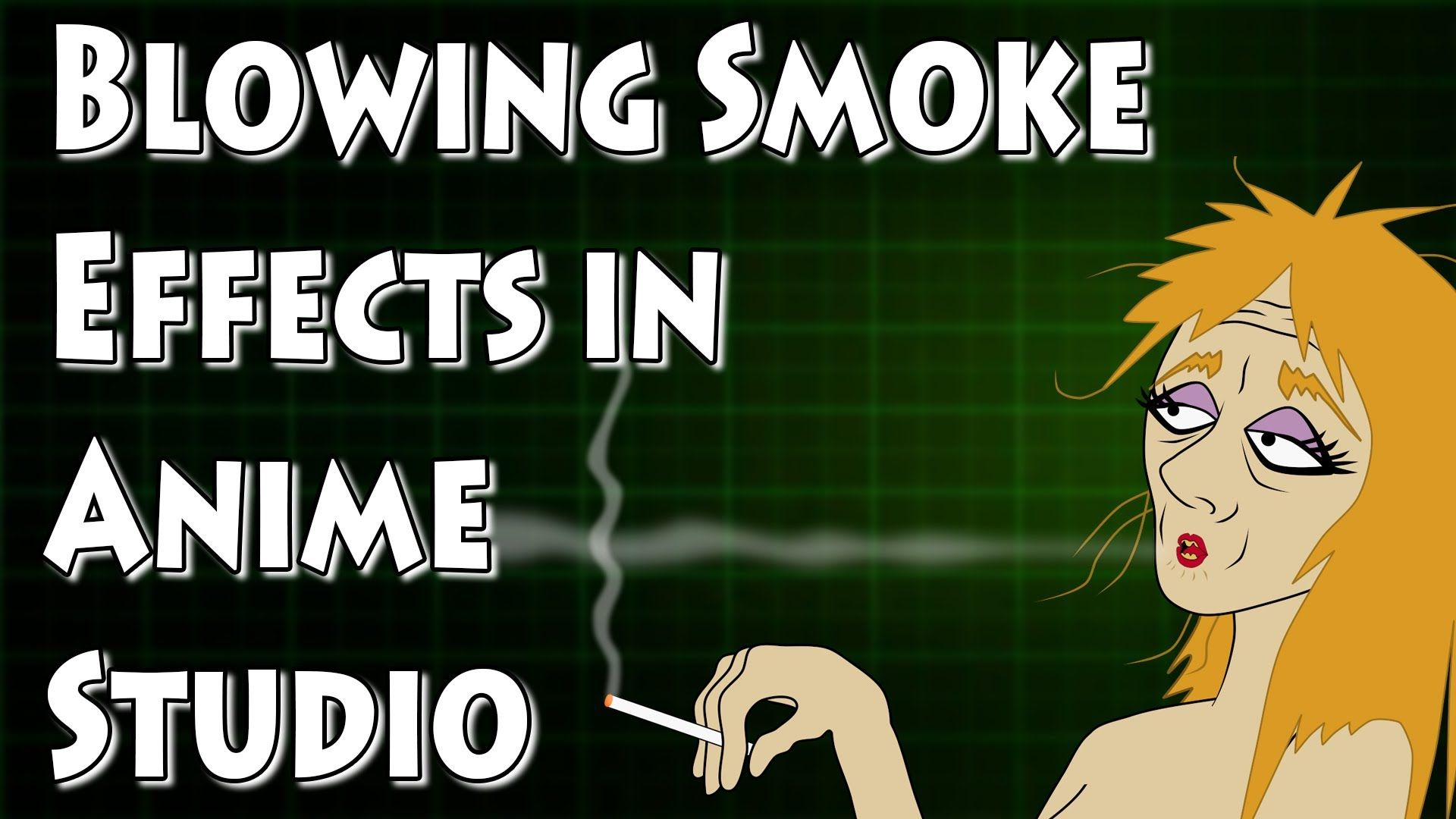Animating Blowing Smoke in Anime Studio From cigarettes