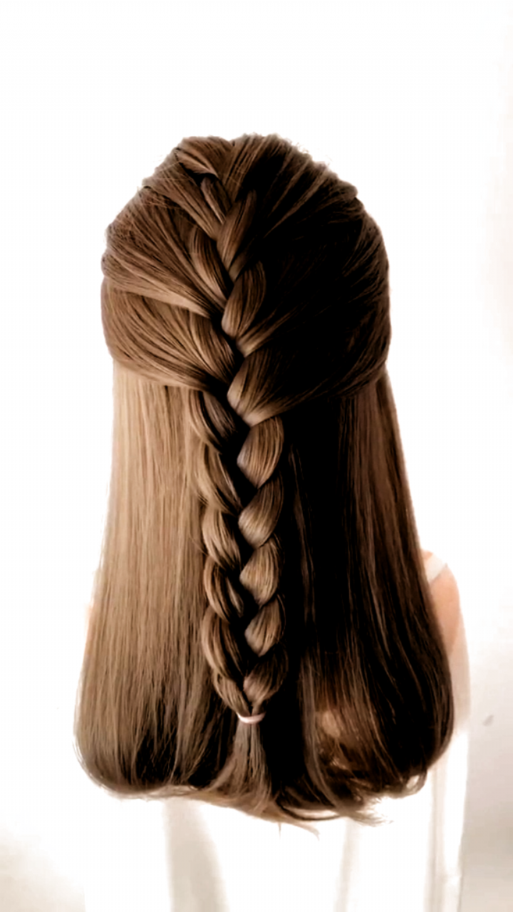 As We Know Hairstyle Plays An Important Role In Everyday Life Gorgeous Romantic But Easy Simple Hairstyle In 2020 Long Hair Styles Hair Videos Braids For Long Hair