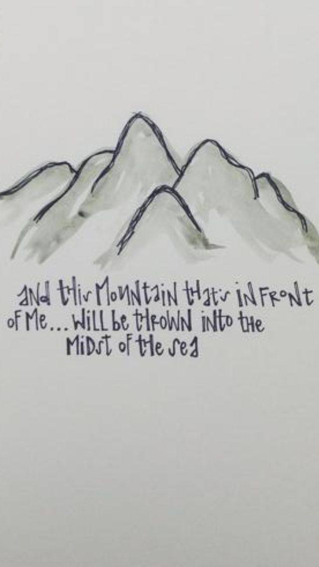 Lyric fall afresh on me lyrics : This mountain that's in front of me will be thrown into the midst ...