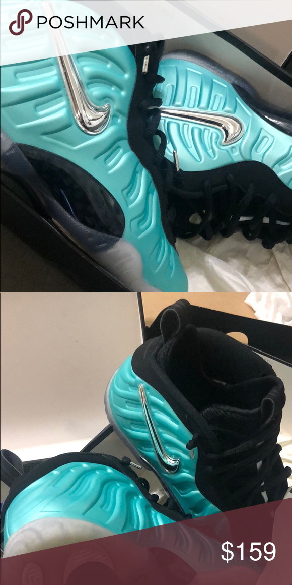 finest selection 23bbe 8bac2 Island Green Nike Little Posite Pro These should be yours ASAP! Worn only  once and in perfect condition. Take advantage of this deal now!