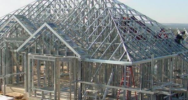 Advantages Of Steel Frame Structures Steel Frame House Metal