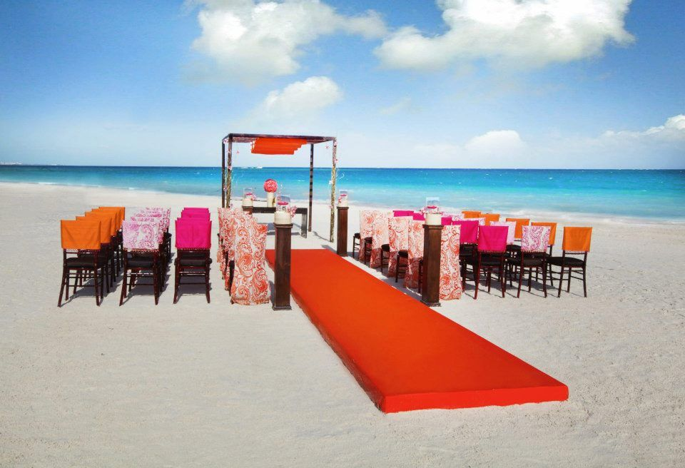 Gay Destination Wedding Colin Cowie Mexico Beach