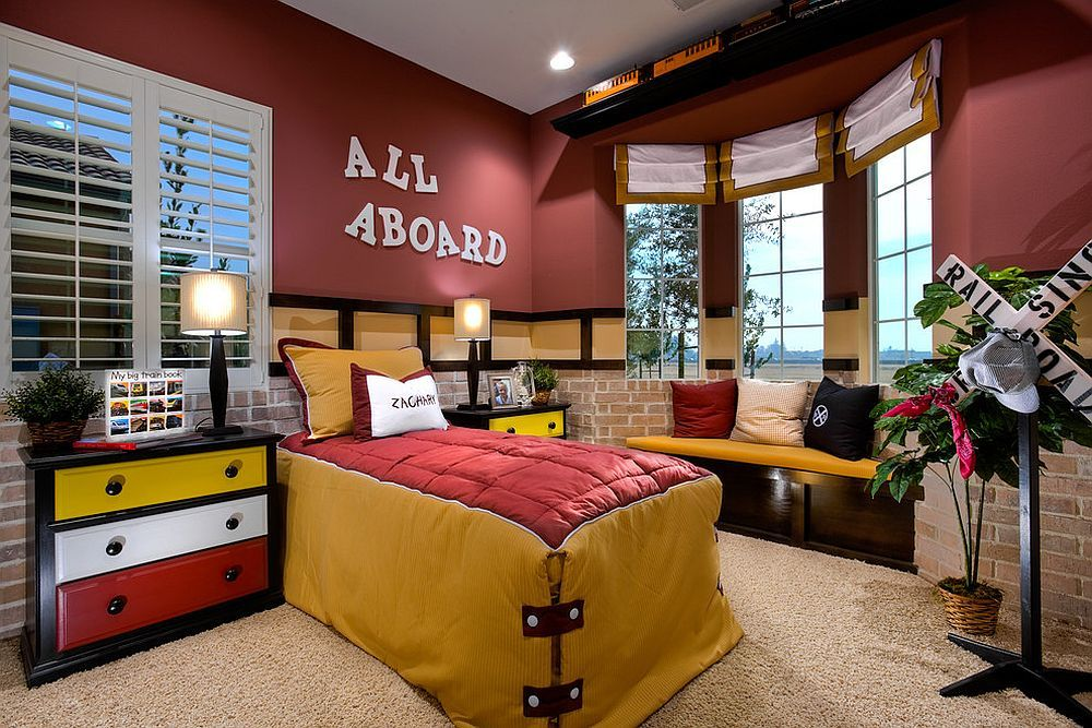 25 Vivacious Kids Rooms With Brick Walls Full Of Personality: 25 Vivacious Kids' Rooms With Brick Walls Full Of