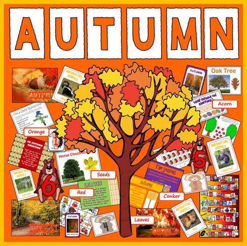 Autumn Teaching Resources Science Animals Eyfs Ks1-2