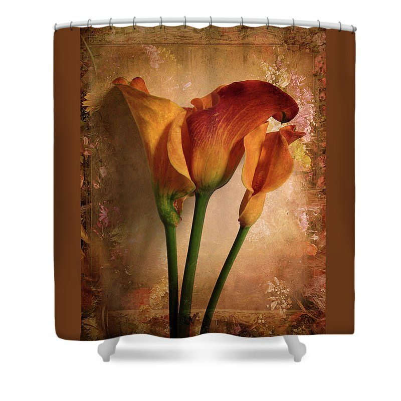 Beau Vintage Calla Lily Shower Curtain By Jessica Jenney. This Shower Curtain Is  Made From 100