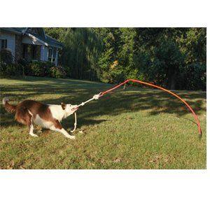 Dog Rope Toys Tether Tug Large Interactive Dog Toy Outdoor Dog