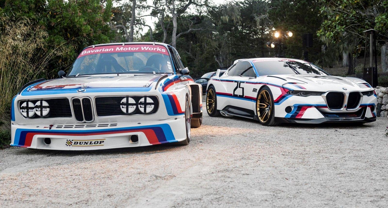 2015 Bmw 3 0 Csl Hommage R Concept Bmw 3 0 Csl Bmw Classic Cars Bmw