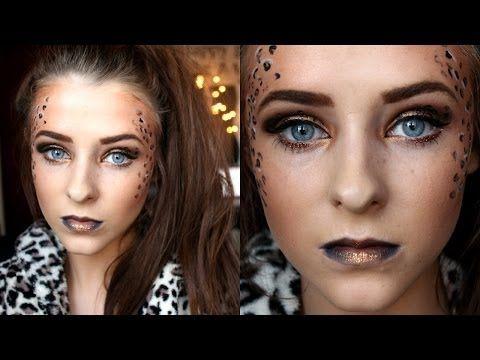 9968145e5b76 ▷ Leopard Print Makeup | Halloween Tutorial - YouTube | Schtuff ...