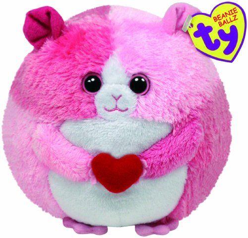 895bb4cdb1d Amazon.com  Ty Beanie Ballz - Rosa the Hamster  Toys  amp  Games