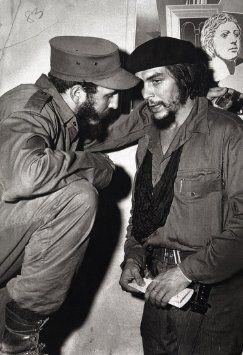 Che Guevara w/ Fidel Castro Poster, Cuban Revolution, Cuba
