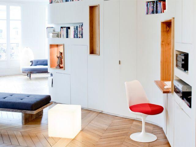 Am nager un coin bureau dans un salon petits bureaux - Amenager un coin bureau dans un salon ...