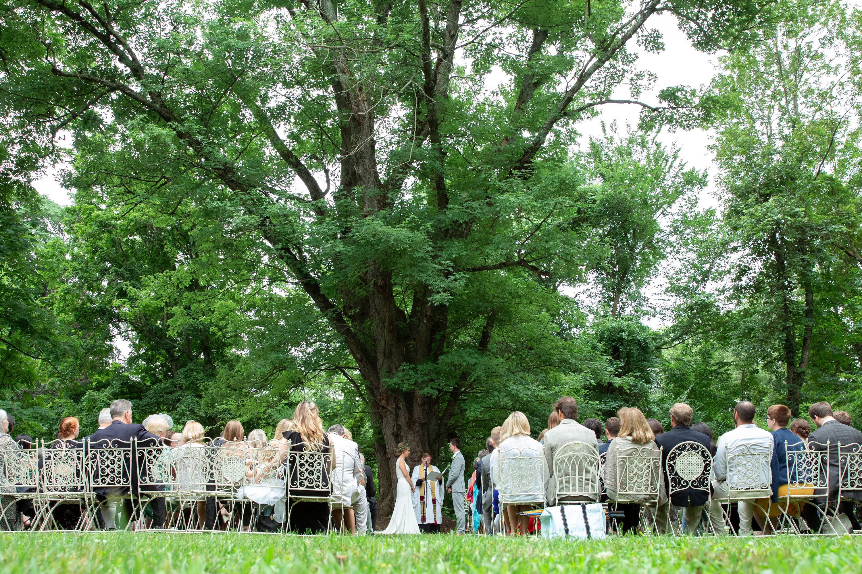 Secret GardenLate spring/early summer Ceremony location