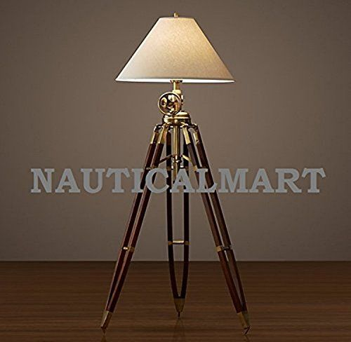 LAMP BY FLOOR TRIPOD Nautical ROYAL NAUTICALMART MARINE Mart rCxBthQsd