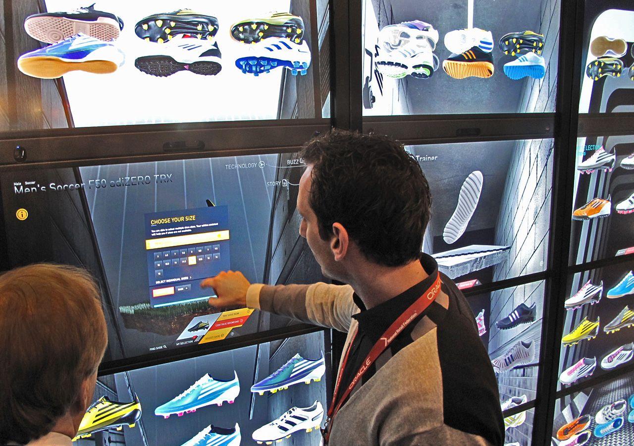adidas nearby showroom
