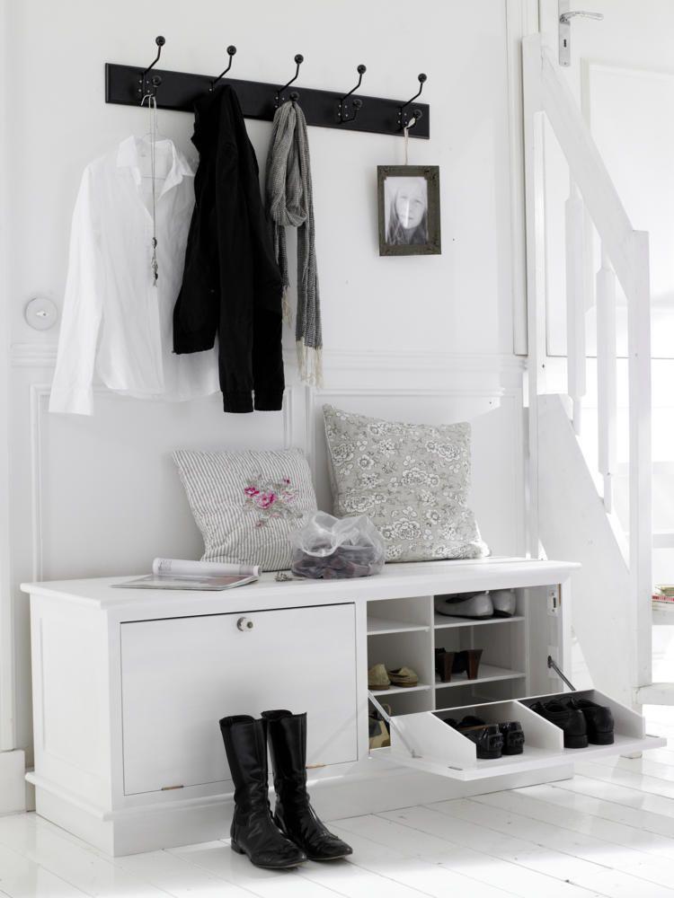 Garderoben Sitzbank Schuhschrank | Haloring
