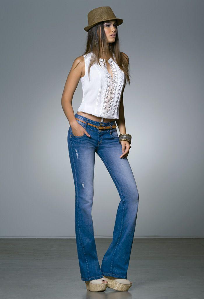 edbda30bb 01 BLUSA S203747 JEANS S049538 CALZADO S082728   My style   Fashion ...