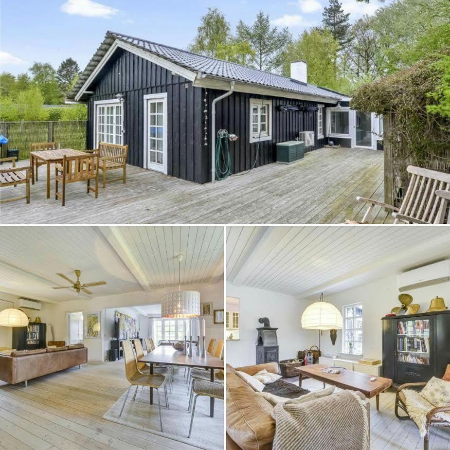 Helles Ferienhaus mit toller Einrichtung auf Møn.