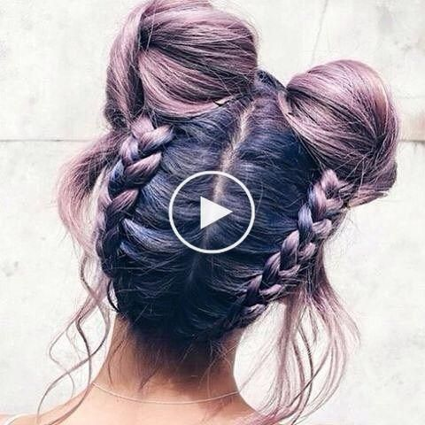 surprise space buns are the most popular summer hairstyle