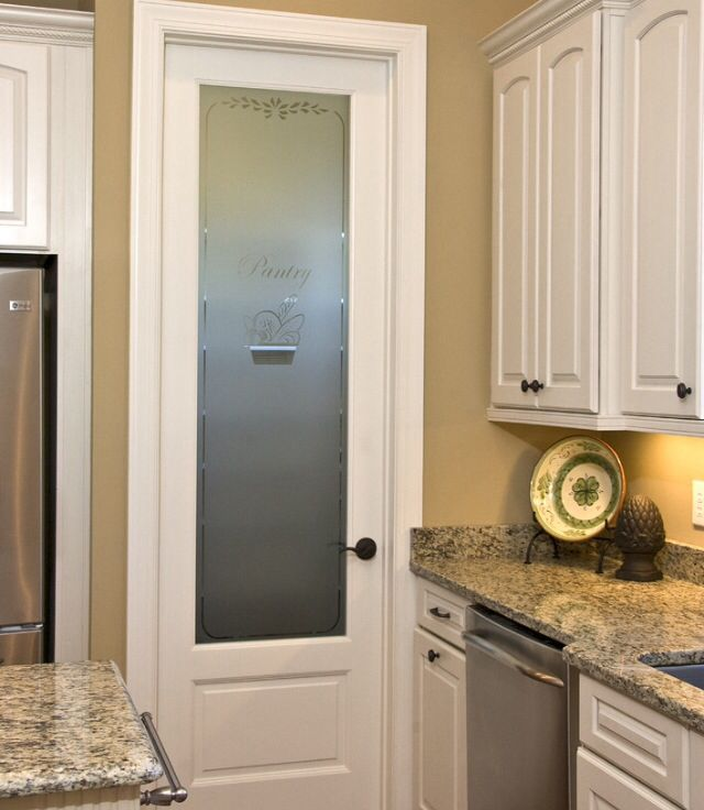 Pantry Love The Skinny Door And Frosted Glass Pantry Design Kitchen Pantry Design Frosted Glass Pantry Door