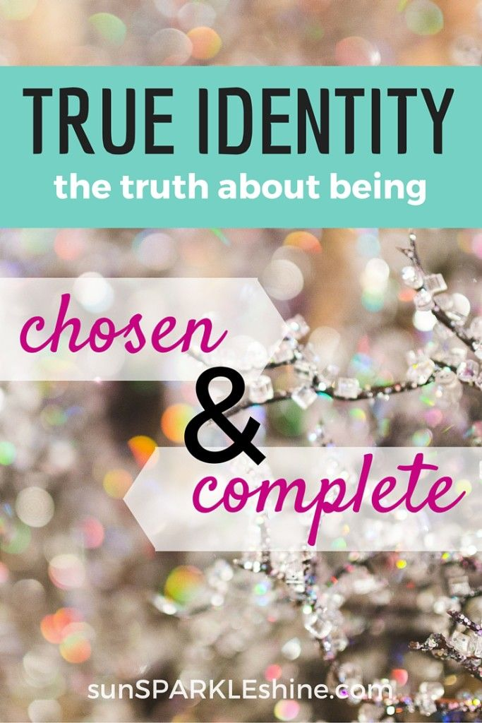 finding your true identity