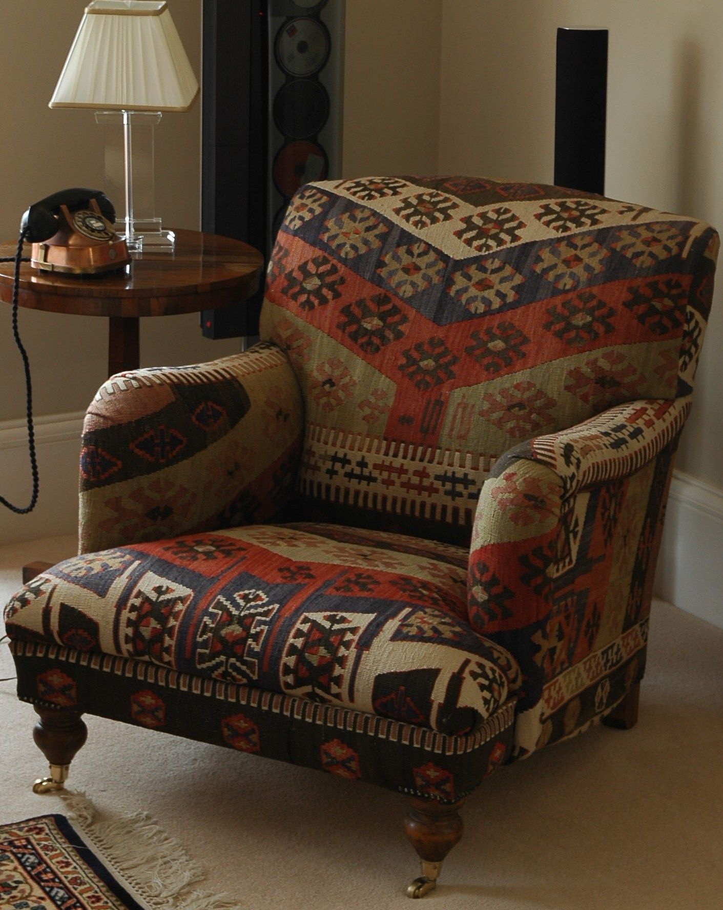 Sofa Upholstery West Sussex Howard Armchair Upholstered In Anatolian Kilim Chair Upholstery