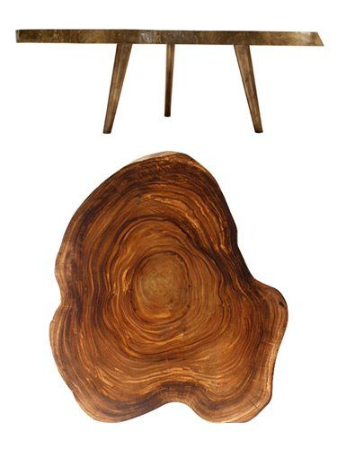 Tree Ring Coffee Table