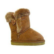 Koala Kids Girls Tan Buckle Boots With Faux Fur Babies R Us Baby Shoe Socks Tan Girls Koala Kids