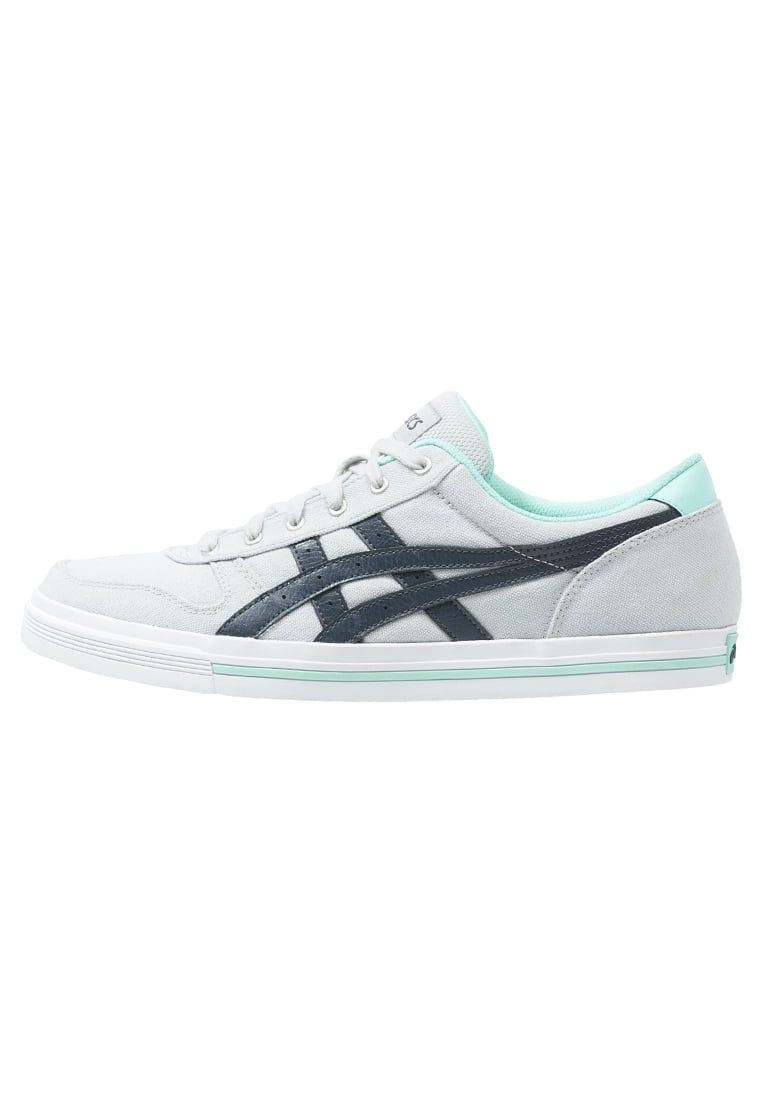 ASICS AARON - Sneaker low - soft grey/indian ink - Zalando.at