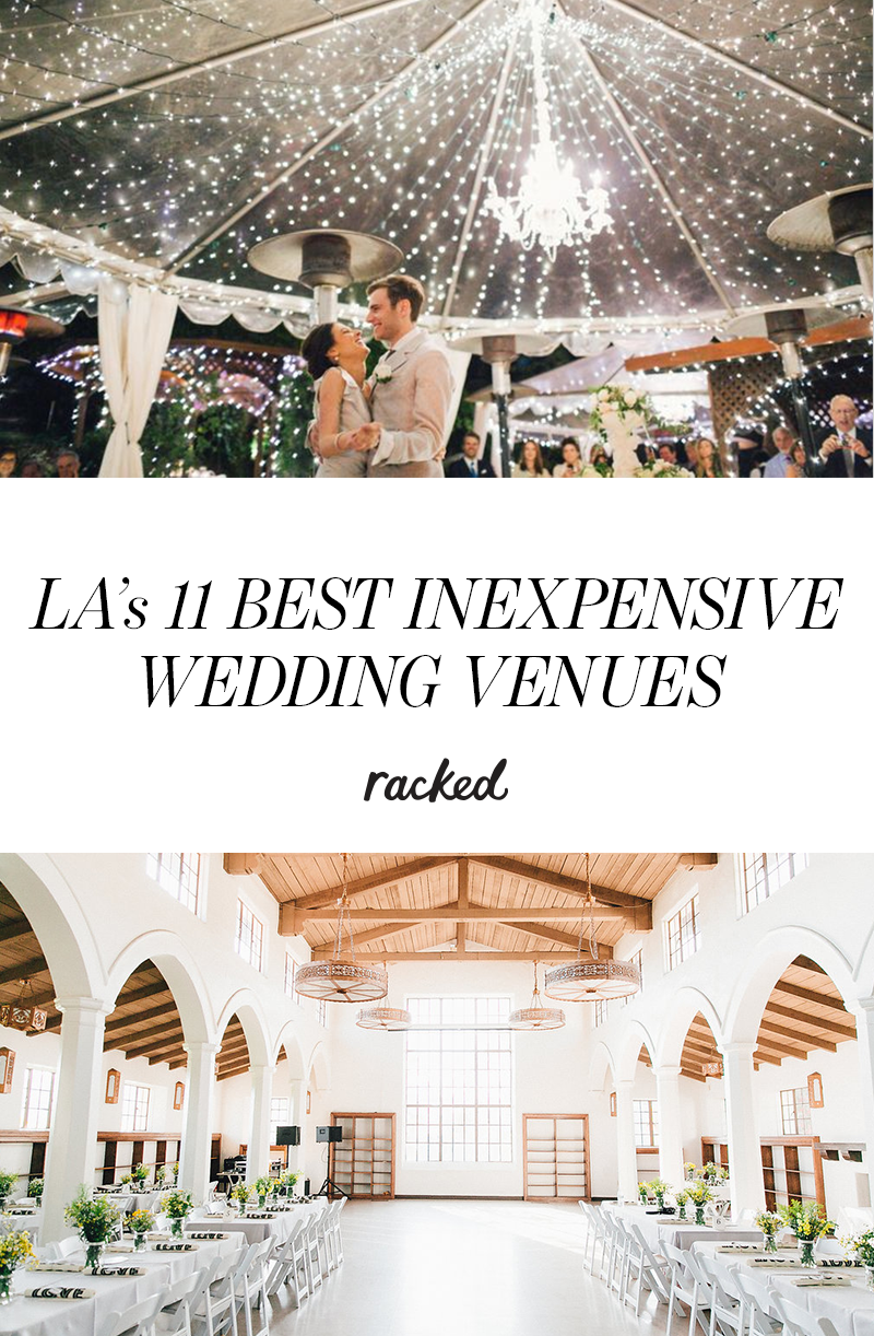 15 of the most inexpensive la wedding venues wedding for Places to have receptions for weddings