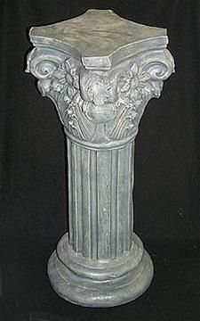 Grand Neo Clical White Pedestal Plant Stand H1grand