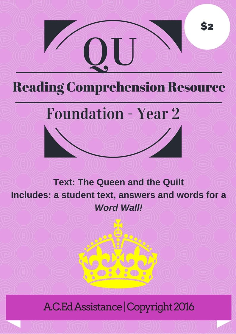 worksheet Qu Words literacy this 8 page resource for 2 includes a student text answers and qu words