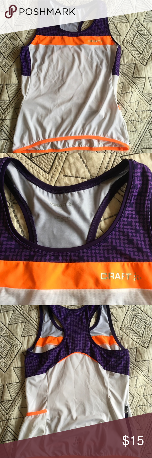 Small Awesome Craft cycling  running top. I m in love with this top.  Purple a5dc7935a