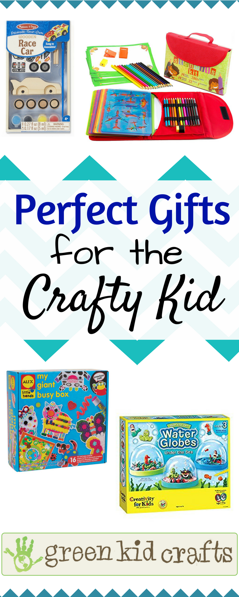 non toy christmas and birthday gift ideas for creative kids