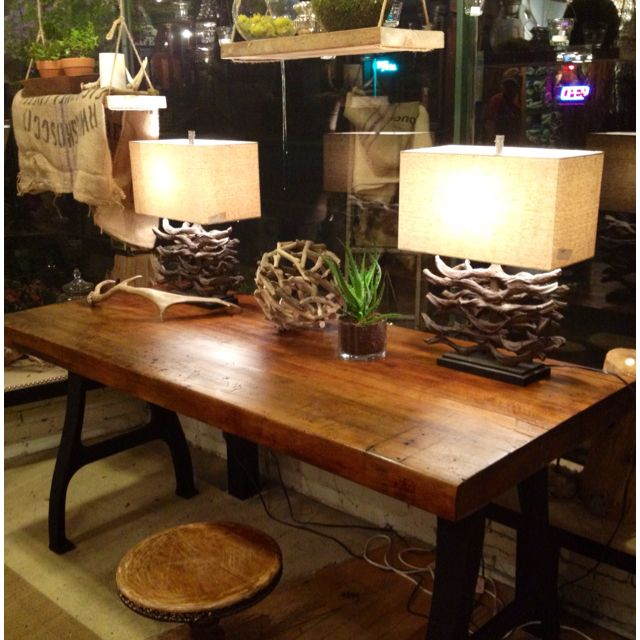 Avery Industrial Dining Table