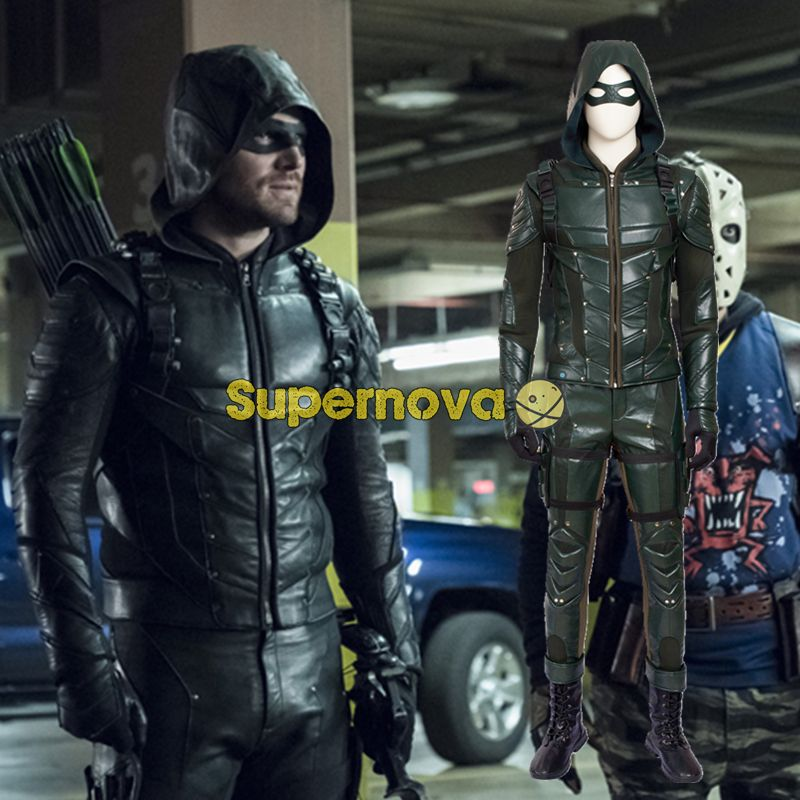 Cheap green arrow cosplay Buy Quality arrow cosplay directly from China oliver queen costume Suppliers Supernova Green Arrow Cosplay Costume Season 5 ... & Click to Buy u003cu003c Supernova Green Arrow Cosplay Costume Season 5 Arrow ...