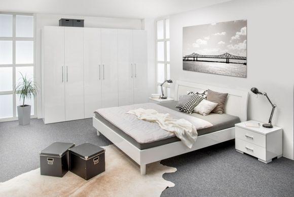 Dieses Schlafzimmer für ruhige Nächte. Durch die