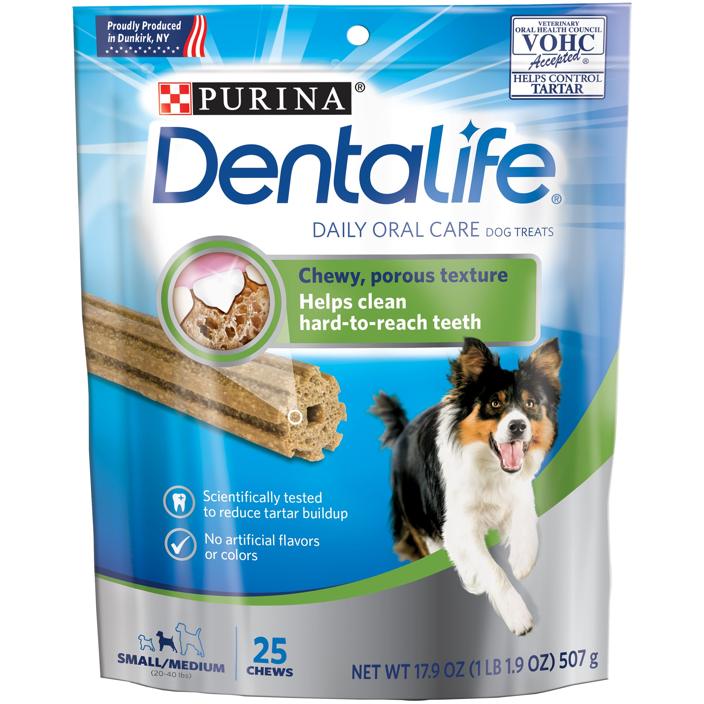 Purina Dentalife Dentalife 17 9oz Dog Dental Chews Oral Hygiene