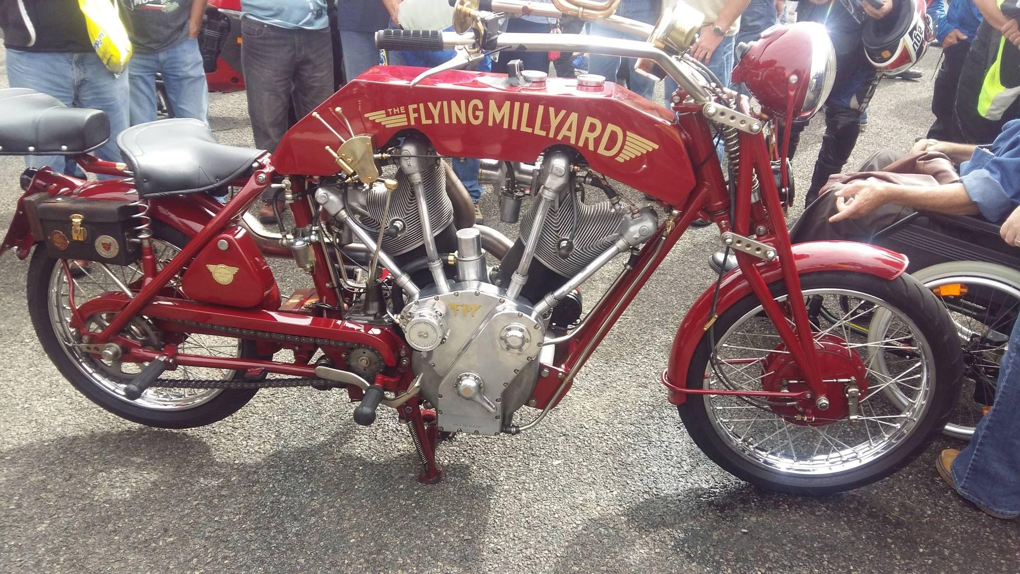 Http Thekneeslider Com The Flying Millyard V Twin Cool Bikes Rat Bike Vintage Bikes