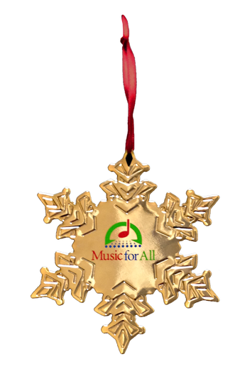 Music For All Christmas Ornament