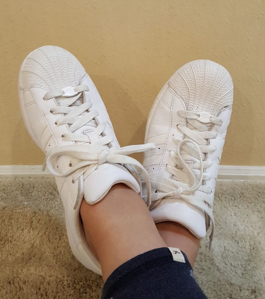 huge discount 75589 eed88 Adidas Original Superstar 2.0 White On White Womens Shoes Size 8  adidas   Tennis