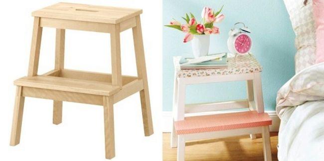 Groovy Ikea Beckvam Step Stool Wood Hack Decorating Idea For My Creativecarmelina Interior Chair Design Creativecarmelinacom