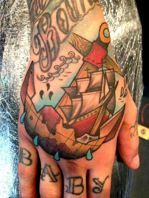 Tattoo done by Sneaky-Mitch Allenden