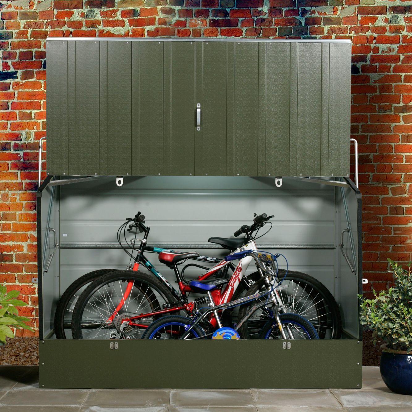 Protectacycle Pent Metal Bike Store Departments Diy At B Q